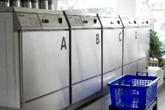 Waschmaschine, Waschsalon, Wäsche